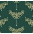 Ornamental seamless ethnic pattern Floral design vector image vector image