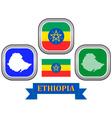 symbol of Ethiopia vector image vector image