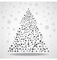 Abstract christmas tree Eps vector image