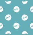 best sign pattern seamless blue vector image vector image