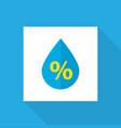 drip icon flat symbol premium quality isolated vector image