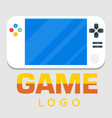 game logo video game background image vector image vector image