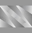 gray and white geometric abstract background with vector image vector image