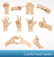 Hand symbol collection