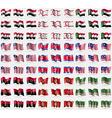 Iraq Turkish Northern Cyprus Sudan Liberia Korea vector image