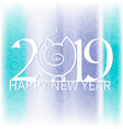new year on the background vector image vector image
