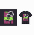 perfect summer stylish colorful t-shirt design vector image vector image