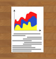 stats documents image vector image vector image