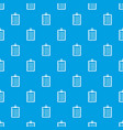 to do list pattern seamless blue vector image vector image