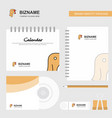 turkey logo calendar template cd cover diary and vector image vector image