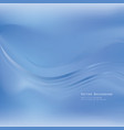 abstract blur background water waves bubbles vector image