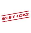 Best Joke Watermark Stamp vector image