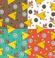 Bird pattern design vector image vector image