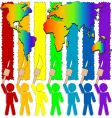 color world vector image vector image