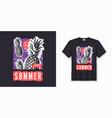 Enjoy the summer stylish graphic tee design