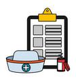 healthcare medical cartoon vector image vector image