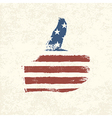 like symbol american flag vector image vector image