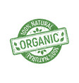Organic stamp rubber green ecologic natural style