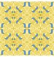 Seamless pattern Art Nouveau vector image vector image