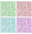 vector seamless patterns in eastern style vector image vector image