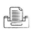 figure buciness document file cabinet design vector image vector image
