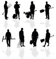 gardener people vector image