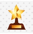 gold award design vector image vector image