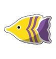 sea fish icon vector image vector image