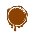 stamp Chocolate vector image vector image
