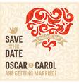 Wedding Invitation 3 vector image vector image