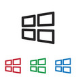windows icon vector image
