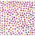 Seamless pattern of hearts for Valentines day vector image
