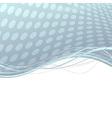 Abstract metal folder swoosh lines background vector image vector image