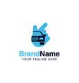 car solution logo services template auto company vector image