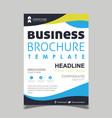 creative brochure designs vector image