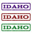 idaho watermark stamp vector image vector image
