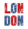 London Card - hand drawn vector image