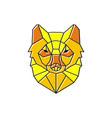 lynx logo design vector image