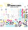 mega set design elements vector image vector image