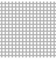 metal grid texture on white background vector image vector image
