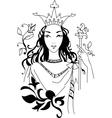romantic Queen vector image
