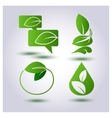 set environmental protection vector image vector image