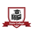 State College emblem vector image vector image