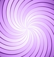 Abstract purple ray twirl background vector image
