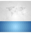 Blue grey technology background vector image