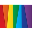 Bright abstract rainbow background vector image vector image