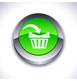 Buy 3d button vector image vector image