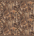 camouflage marbled strokes seamless pattern vector image