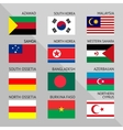 flags world 14 vector image