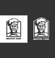 master cook logo vector image vector image